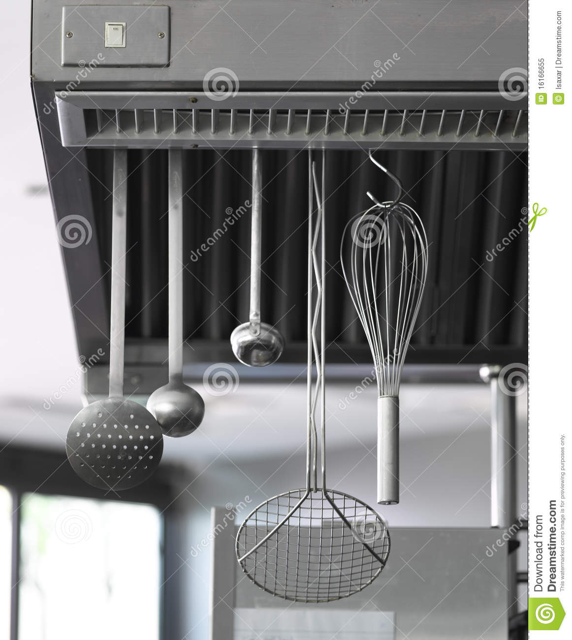 Restaurant Kitchen Equipment Royalty Free Stock Photo - Image