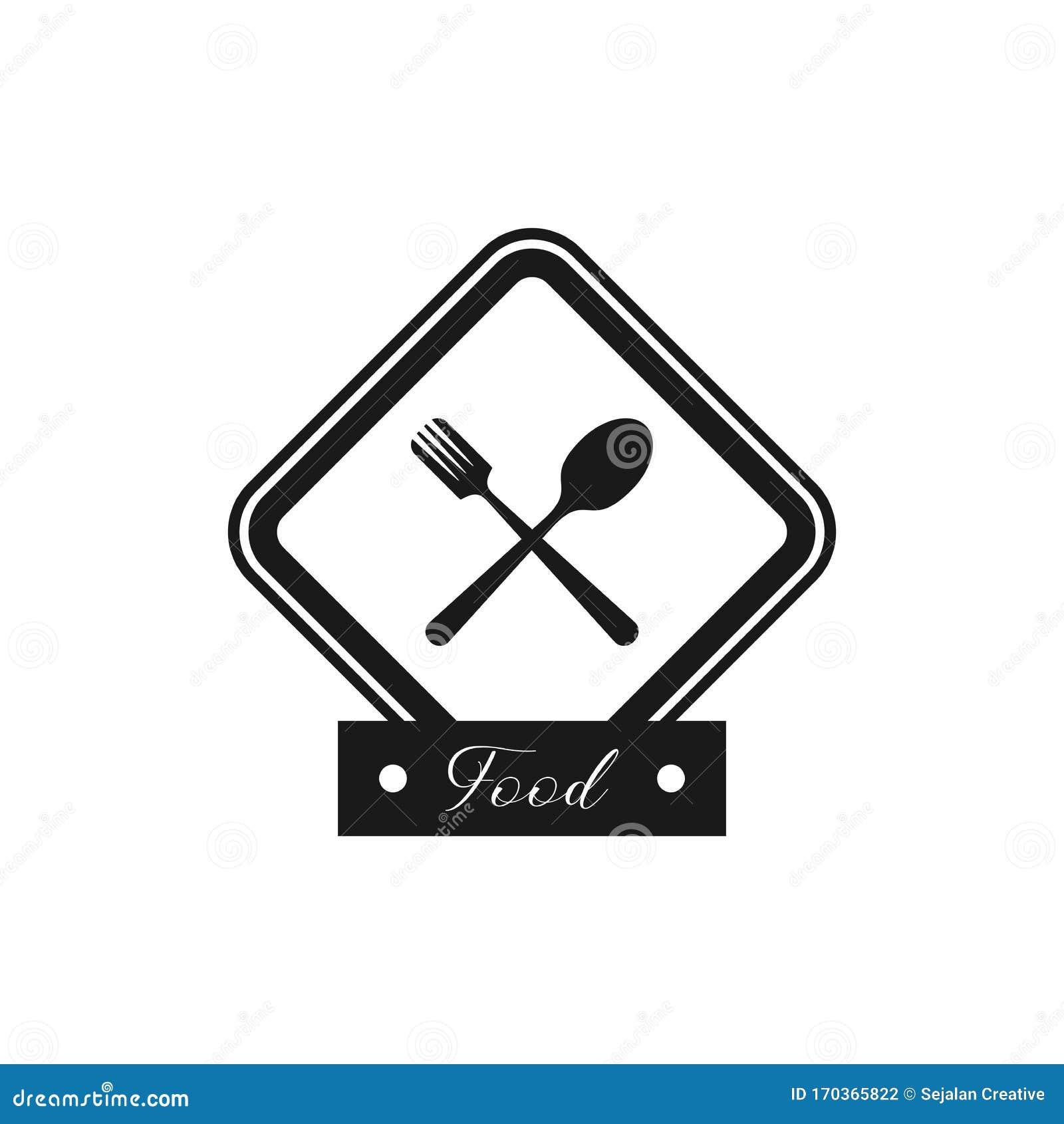 Restaurant Logo Design Creative Food Icon Design Stock Vector Illustration Of Element Luxury 170365822