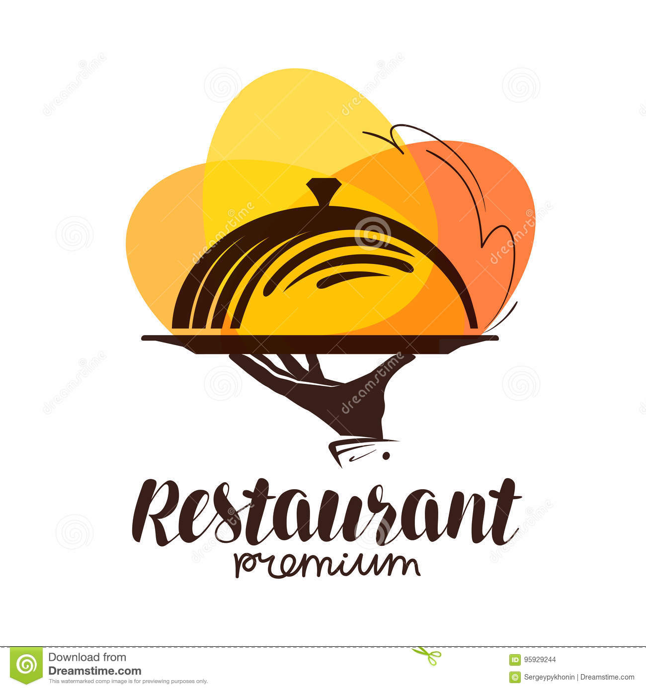 Restaurant Logo Icon Or Symbol For Design Menu Eatery Canteen Or