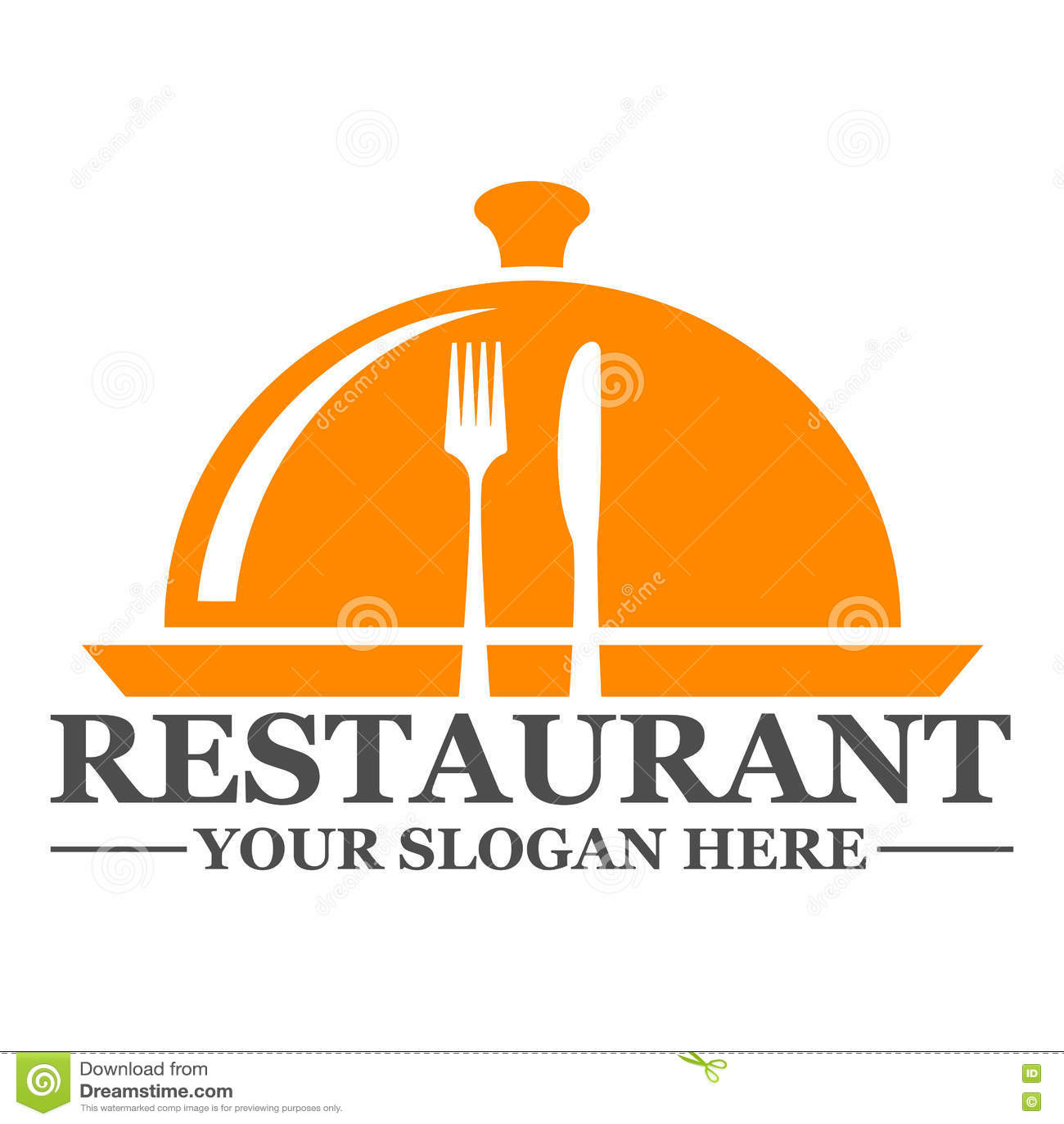Restaurant Logo Template Design Stock Vector Illustration Of Holiday Label 81728907