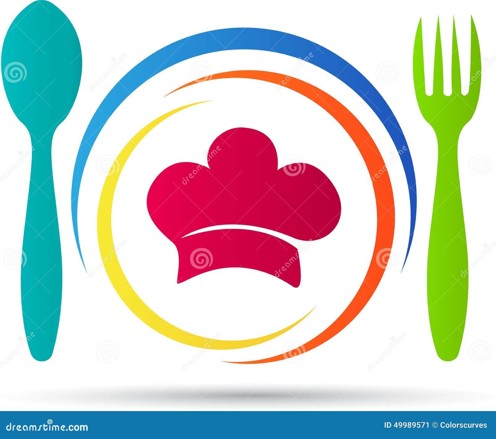 Restaurant logo stock vector illustration of cartoon