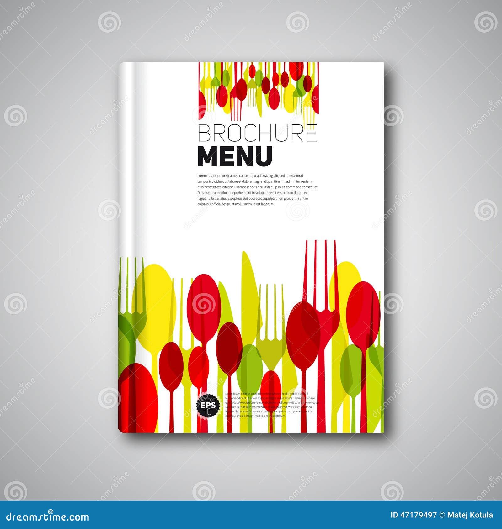 ... Menu Card Design template, Brochure book cover design, card
