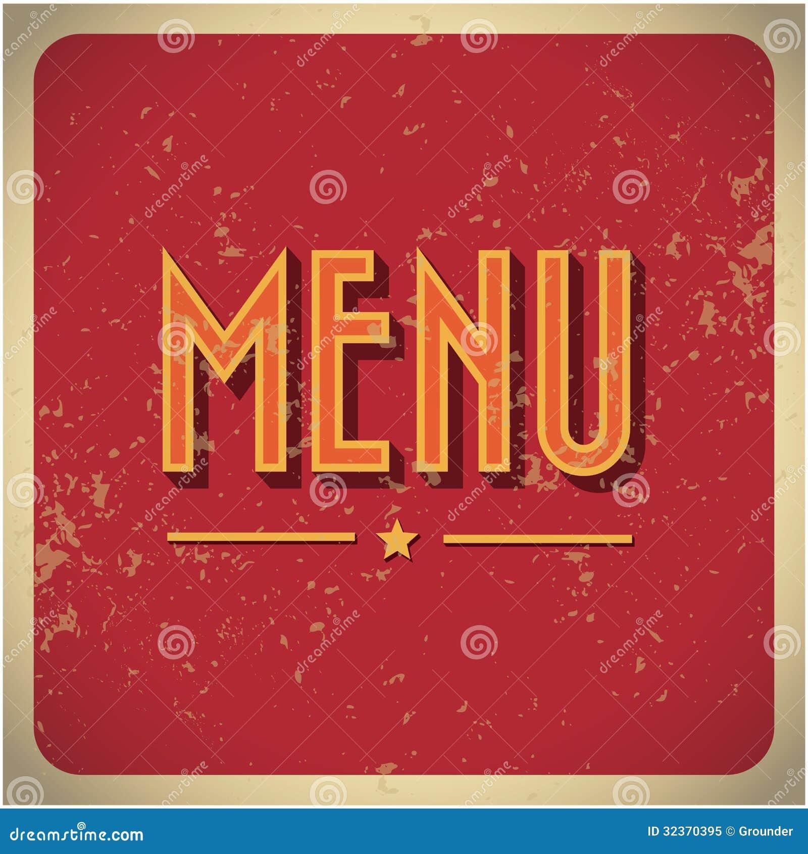 restaurant menu card design template. royalty free stock photo