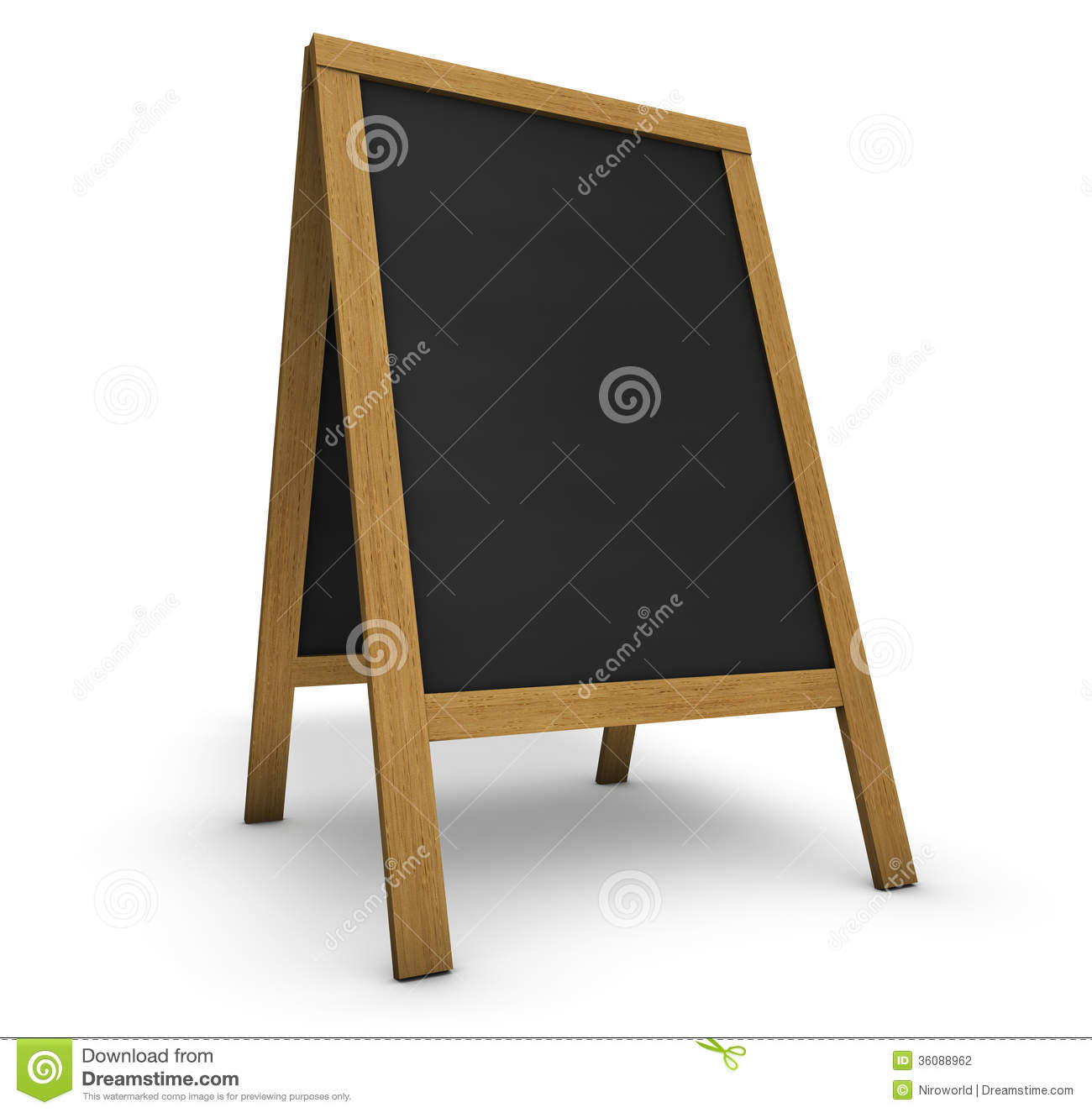 Restaurant Menu Chalkboard stock photo. Image of ...