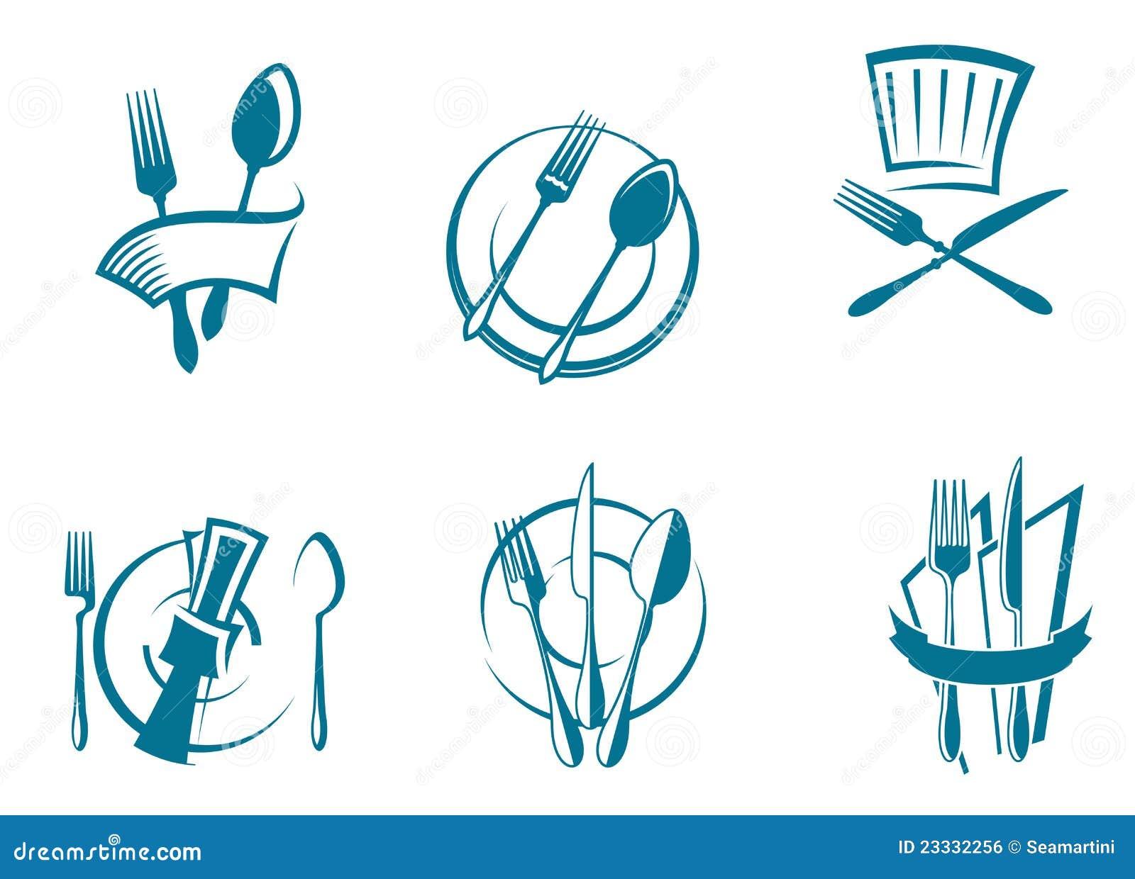... Menu Icons And Symbols Royalty Free Stock Image - Image: 23332256