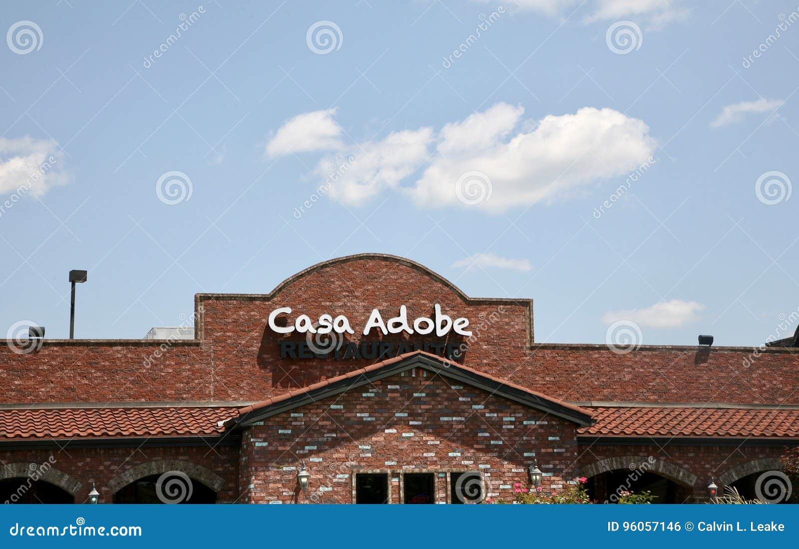 Restaurant mexicain d Adobe de maison, Jackson TN