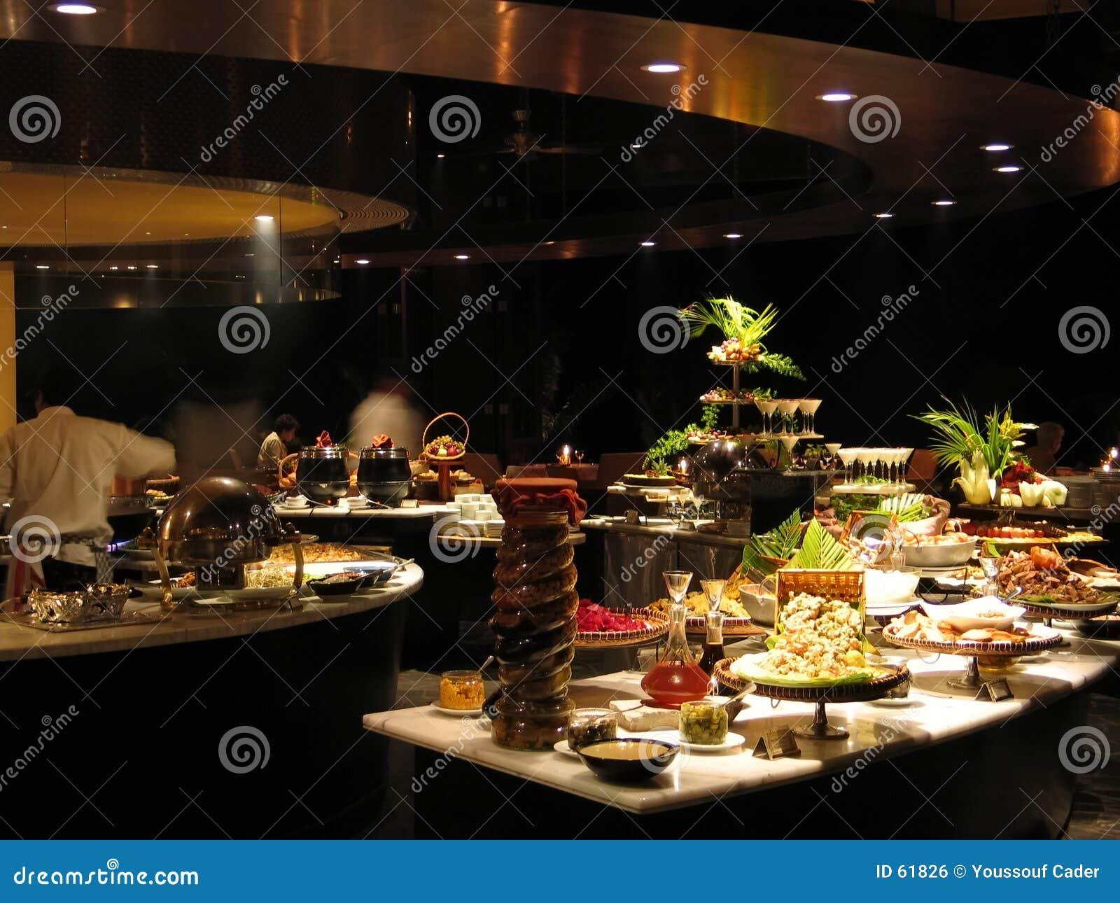 Restaurant at night-1189