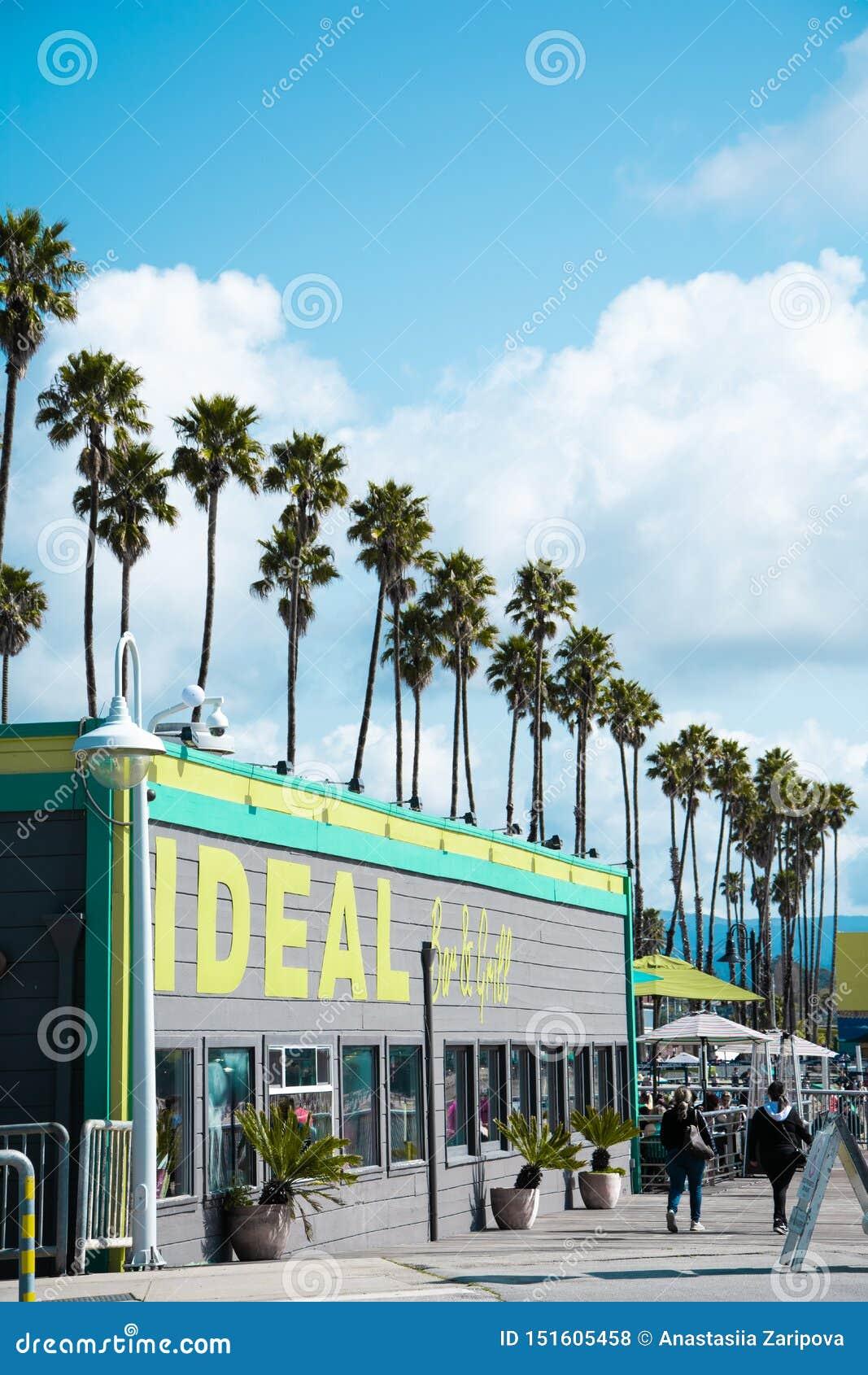 Restaurant in Santa Cruz Beach Boardwalk