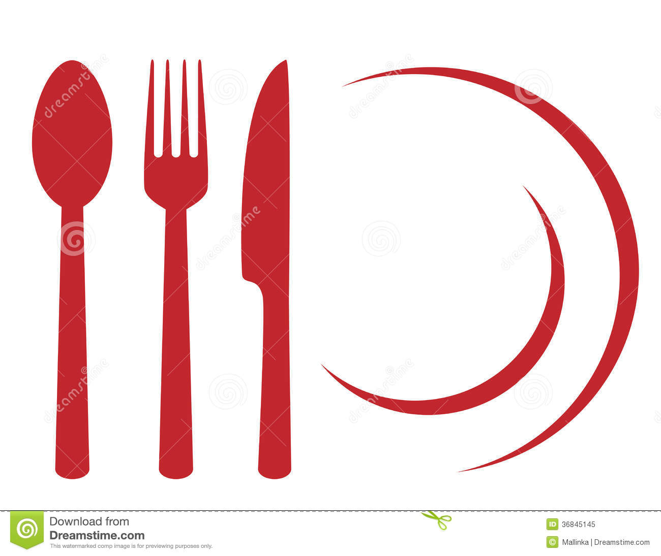 restaurant symbols clip art - photo #8