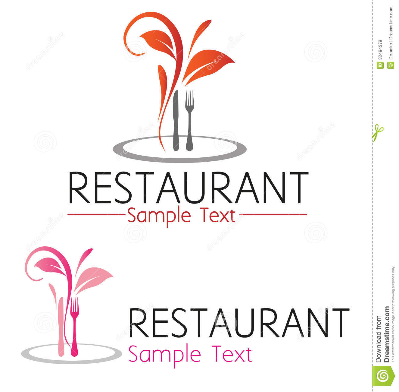 Restaurant symbol stock vector illustration of creative 32484378 restaurant symbol buycottarizona Image collections