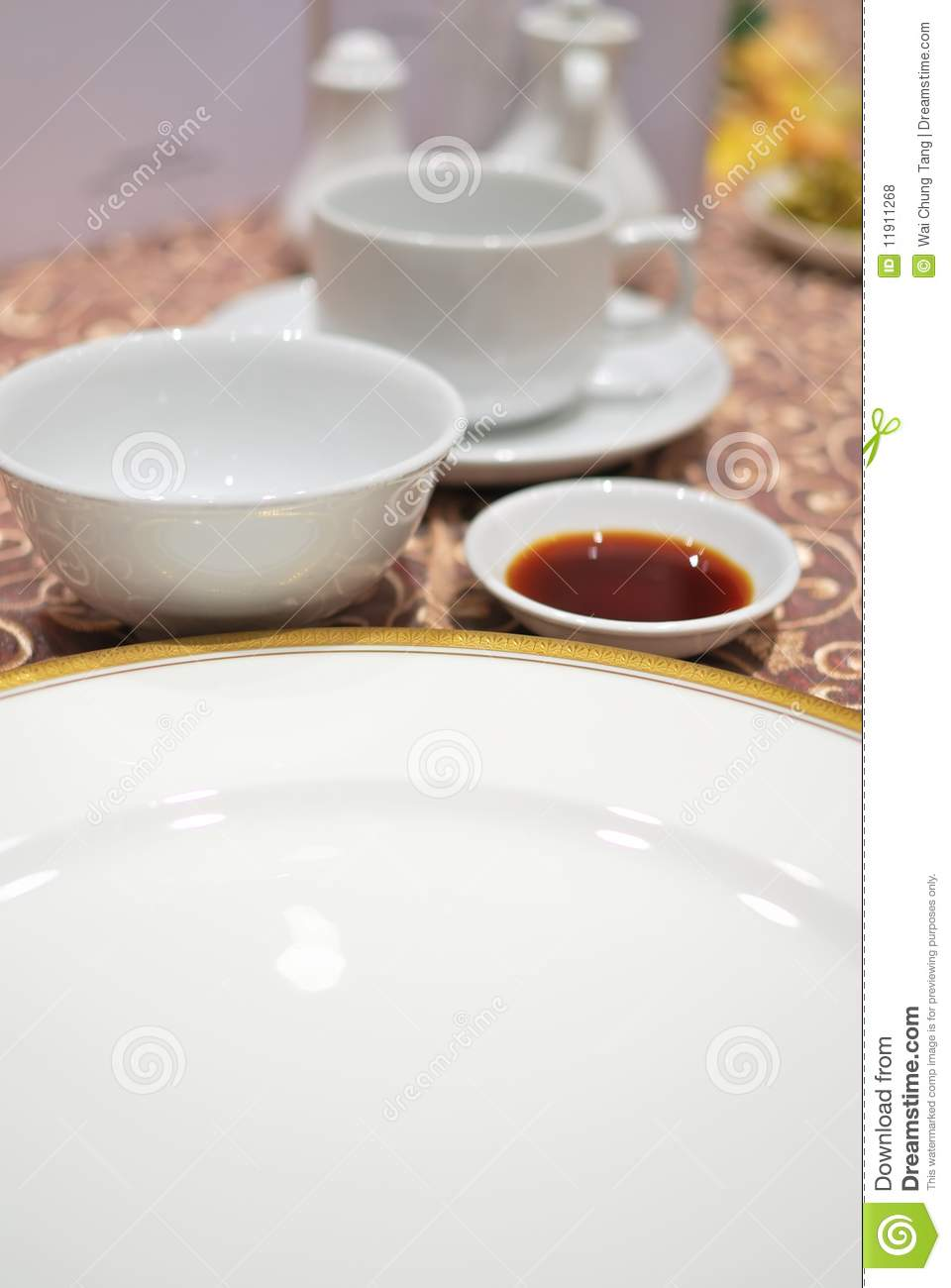 Restaurant table layout royalty free stock photos image