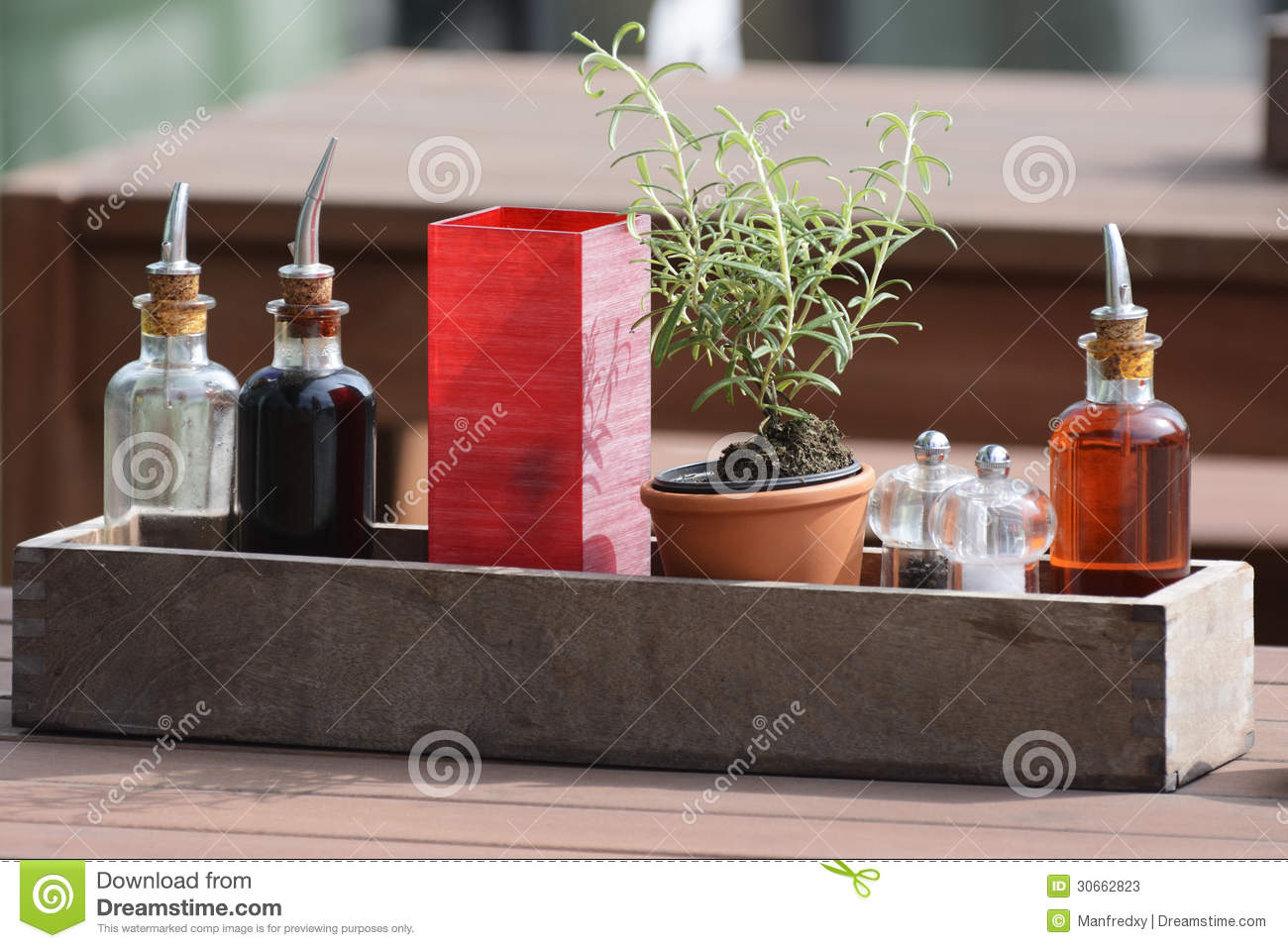 Restaurant Table Setting stock image. Image of mediterranean - 30662823