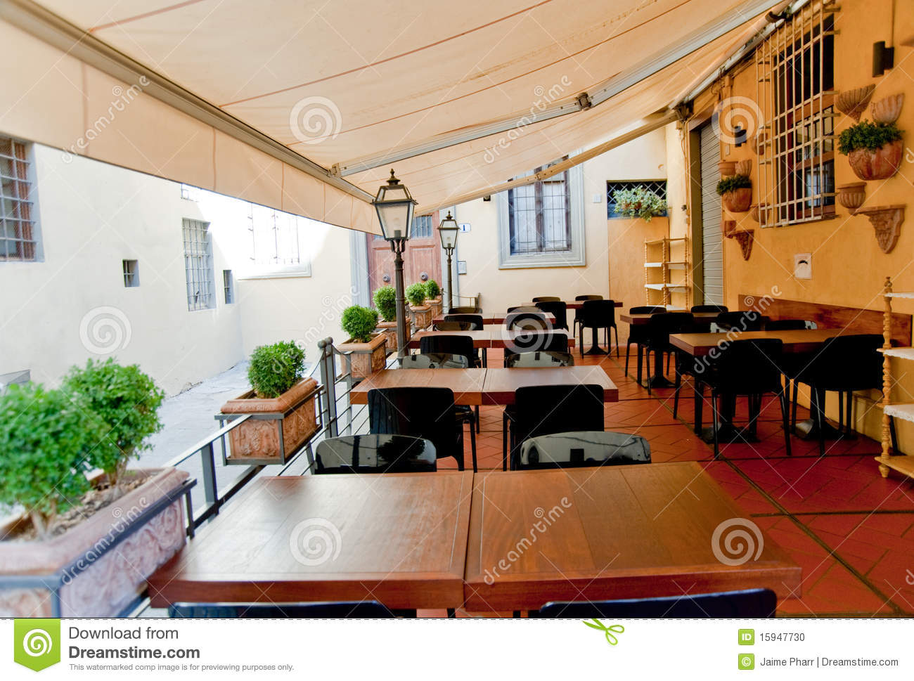 Restaurant terrace stock photo image of dine dining for Terrace bar menu