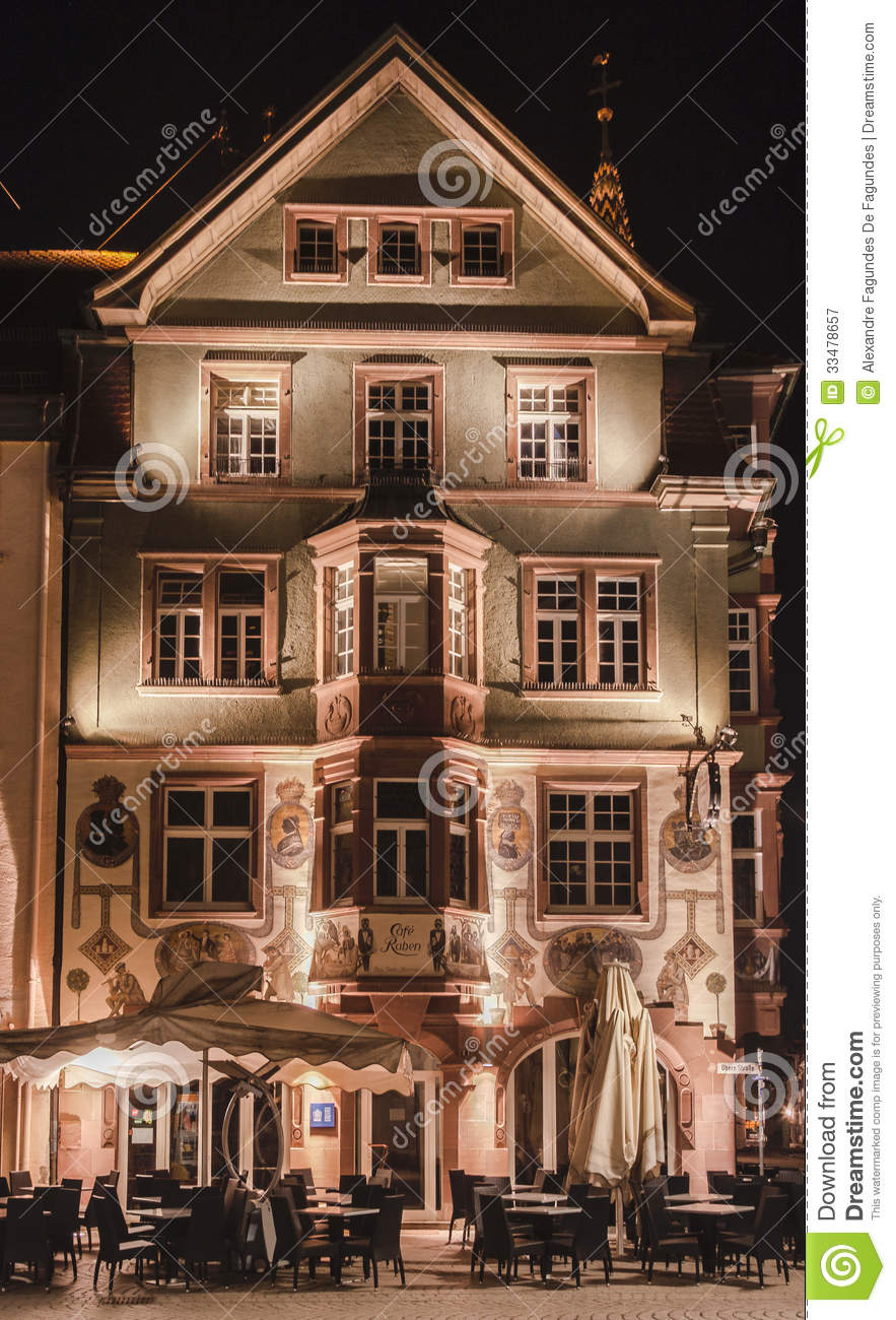 restaurant villingen schwenningen germany editorial photography image 33478657. Black Bedroom Furniture Sets. Home Design Ideas
