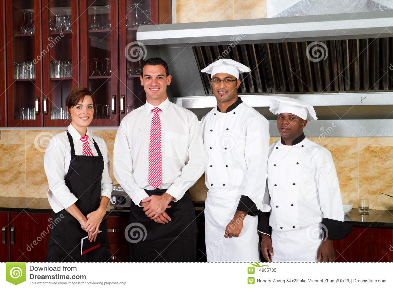 Restaurant Workers Royalty Free Stock Photo Image 14985735