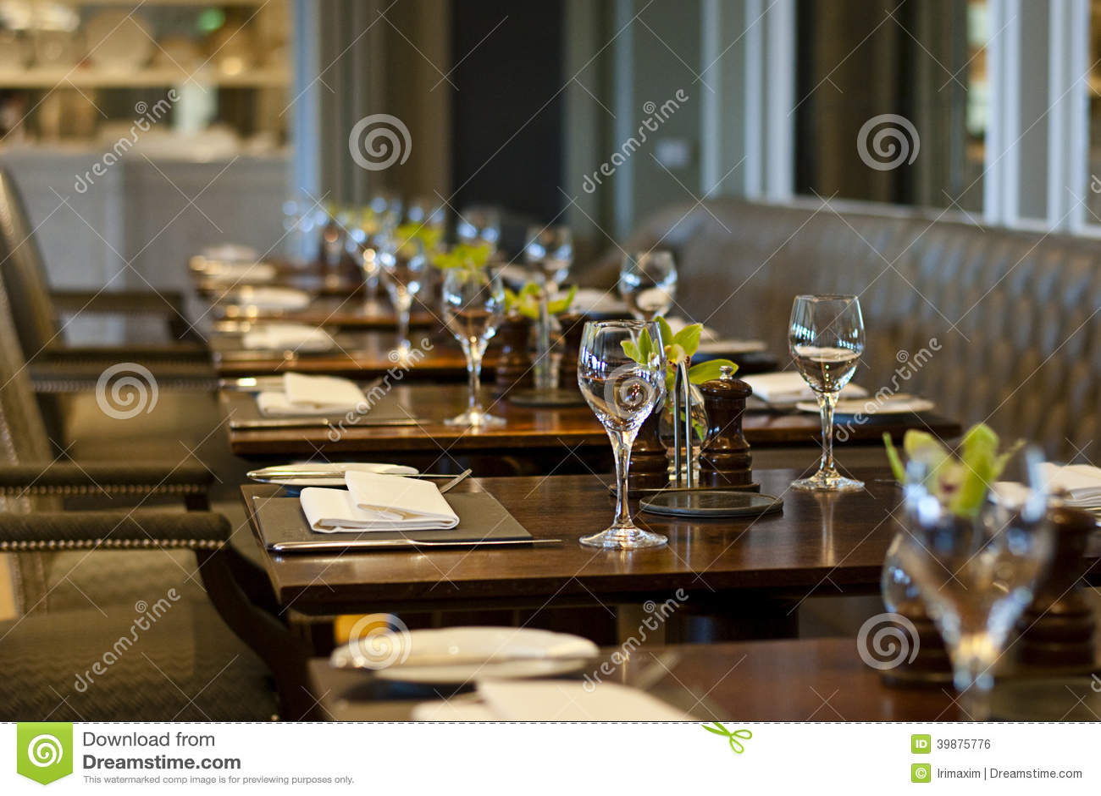 Restaurante acogedor