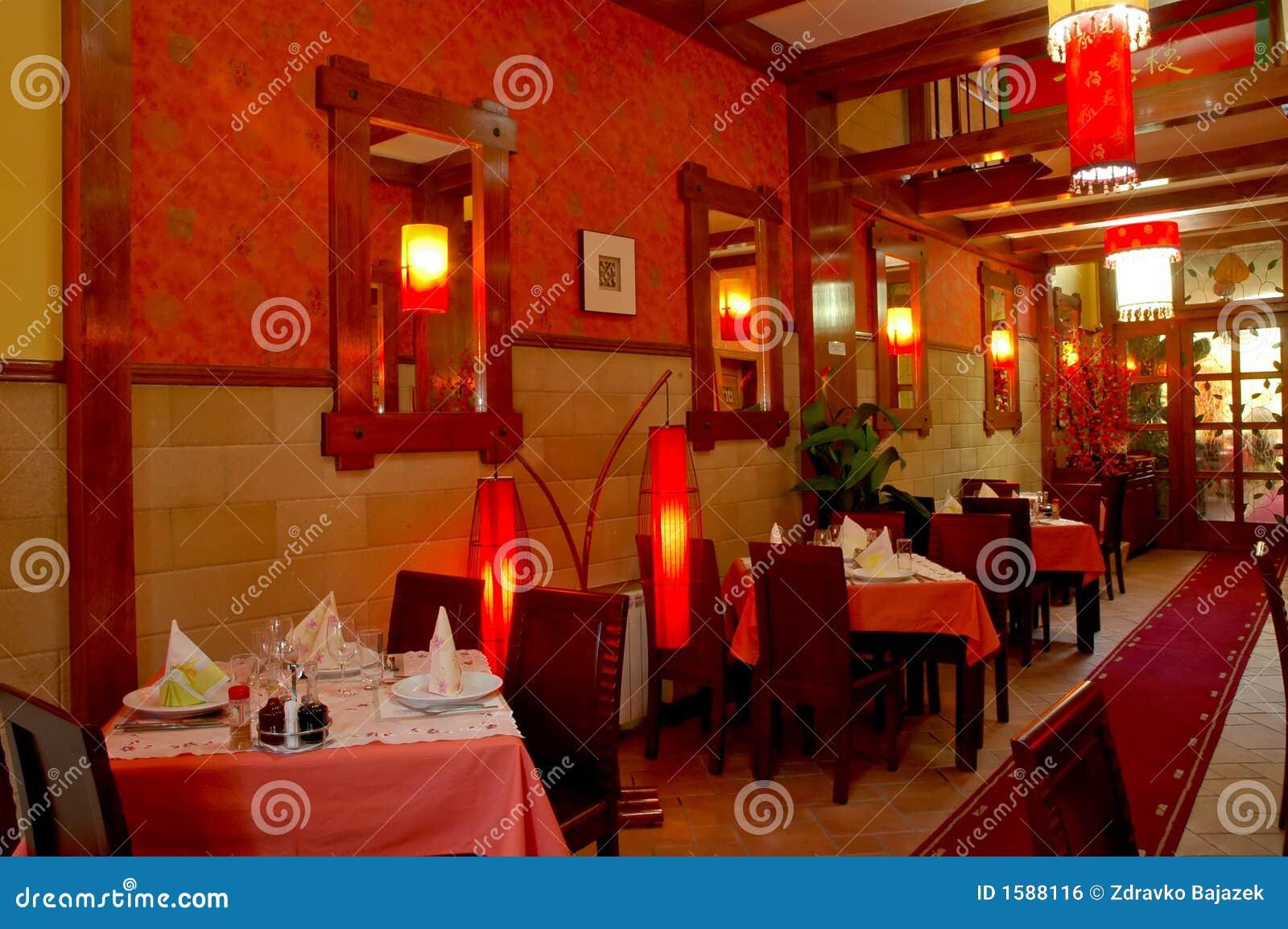 Restaurante chino imagen de archivo libre de regal as imagen 1588116 - Restaurante chino jardin feliz ...