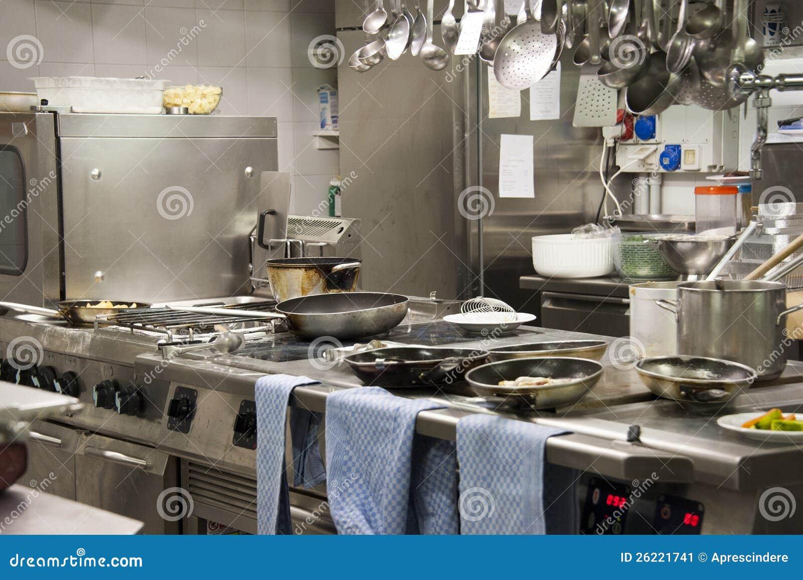 Restaurante Da Cozinha Imagem De Stock Imagem De Kitchenware 26221741