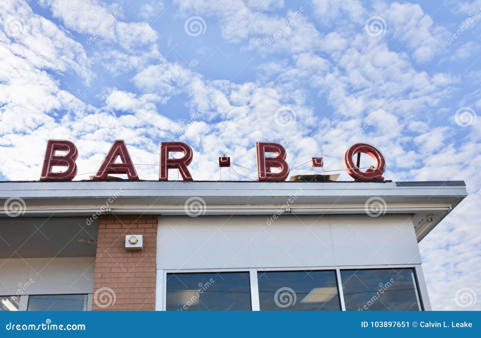 Restaurante de la comida de la barbacoa