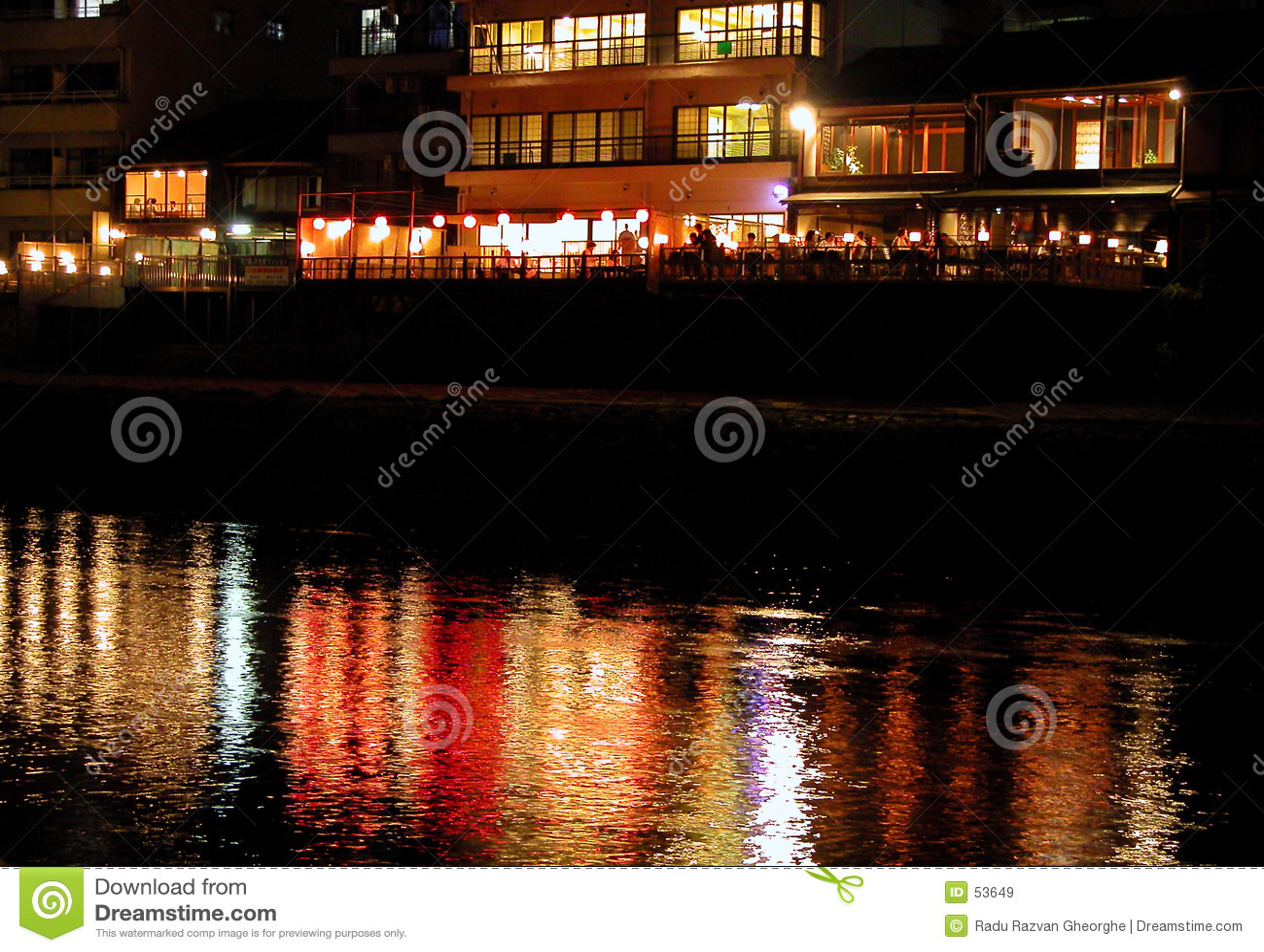 Restaurante de la orilla