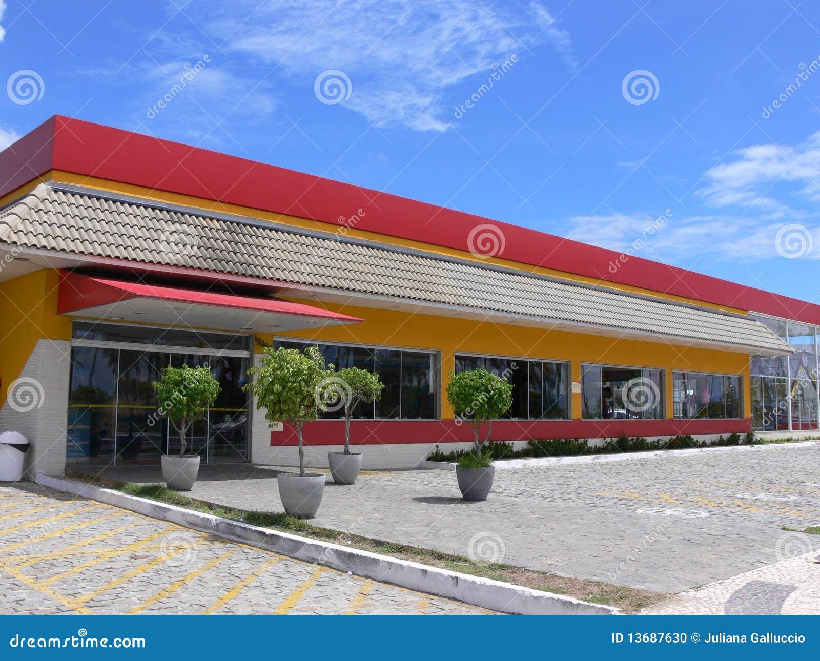Restaurante do fast food