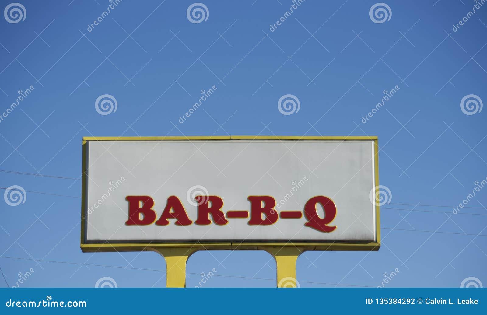 Restaurante dos reforços, da carne do peito e da salsicha do assado