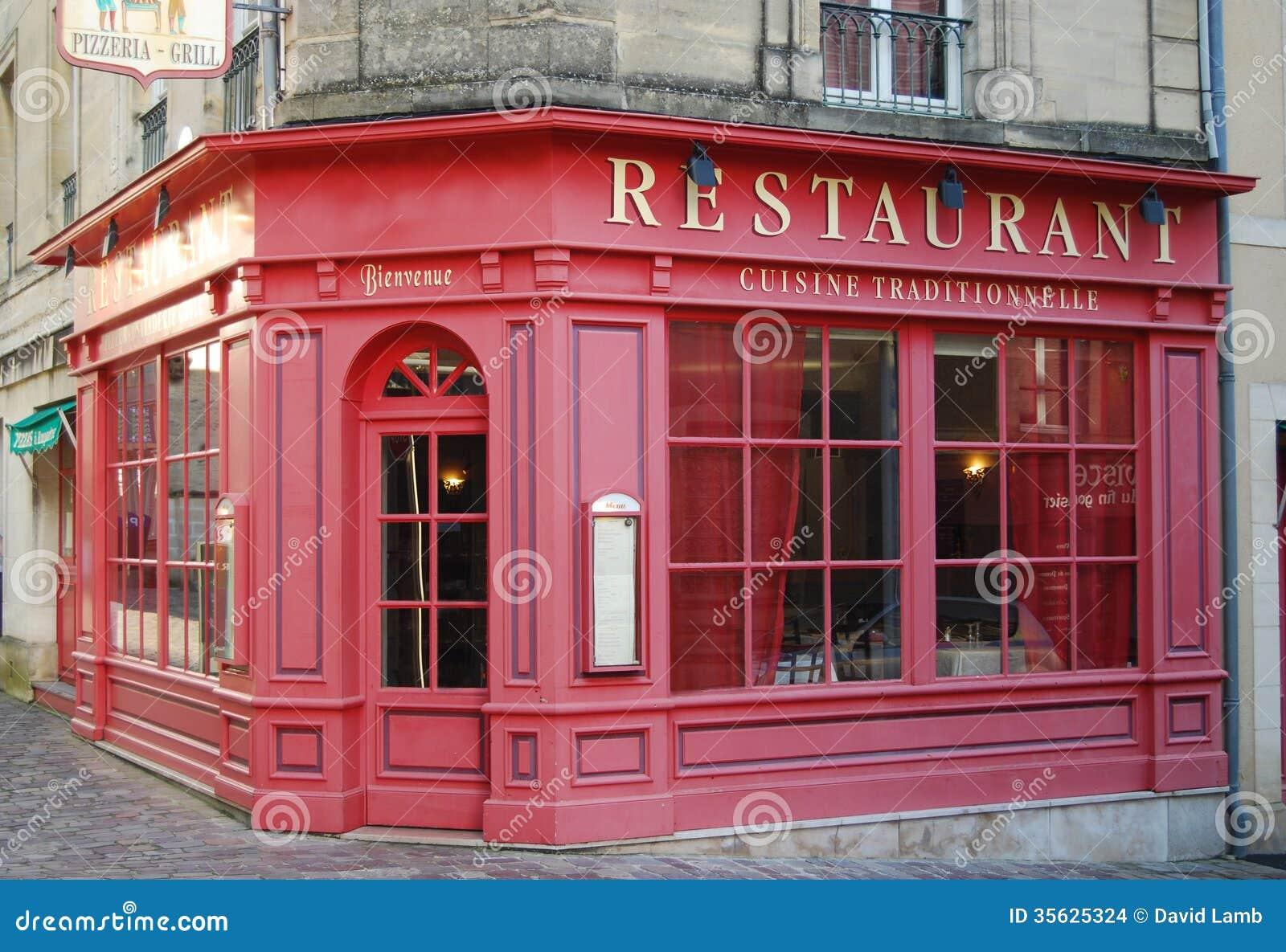 Restaurante franc s imagenes de archivo imagen 35625324 for Restaurante frances