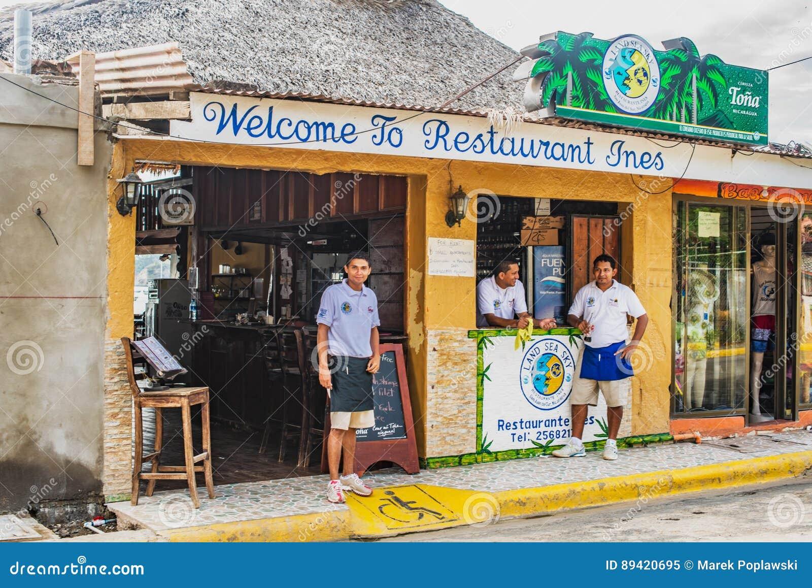 Restaurante Ines em San Juan del Sur, Nicarágua