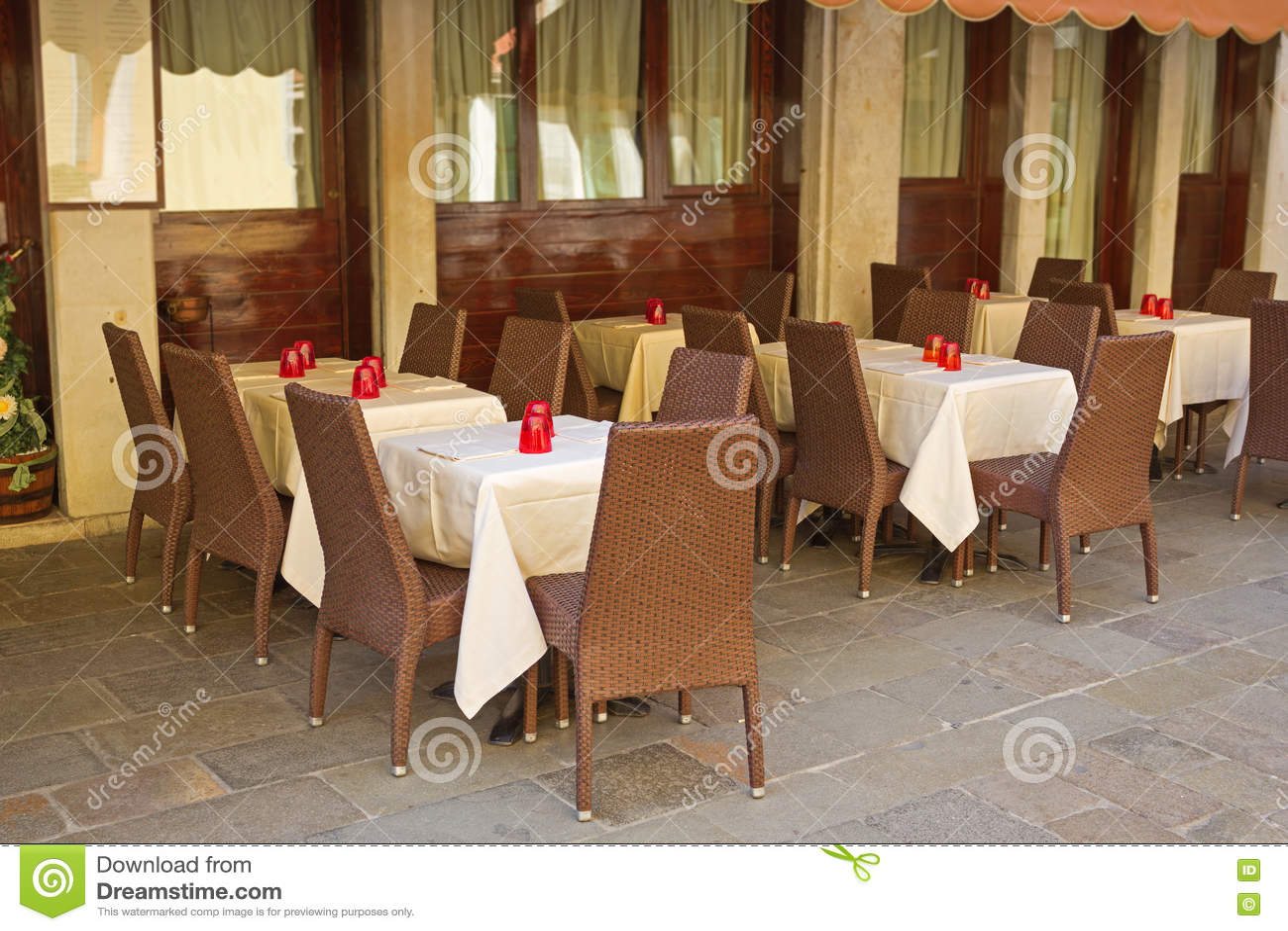 Restaurante italiano típico