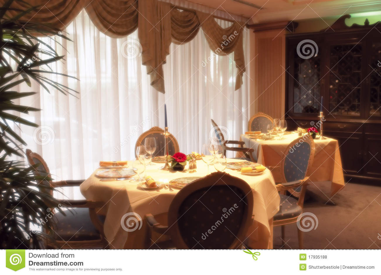 Restaurante luxuoso