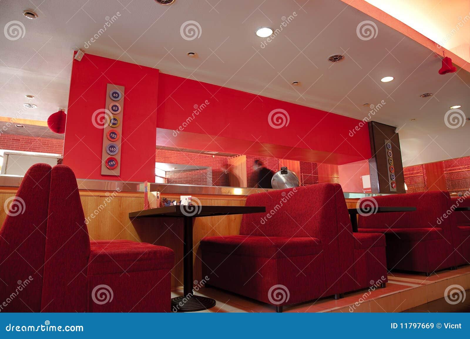Restaurante moderno imagens de stock royalty free imagem - Interiores de restaurantes ...
