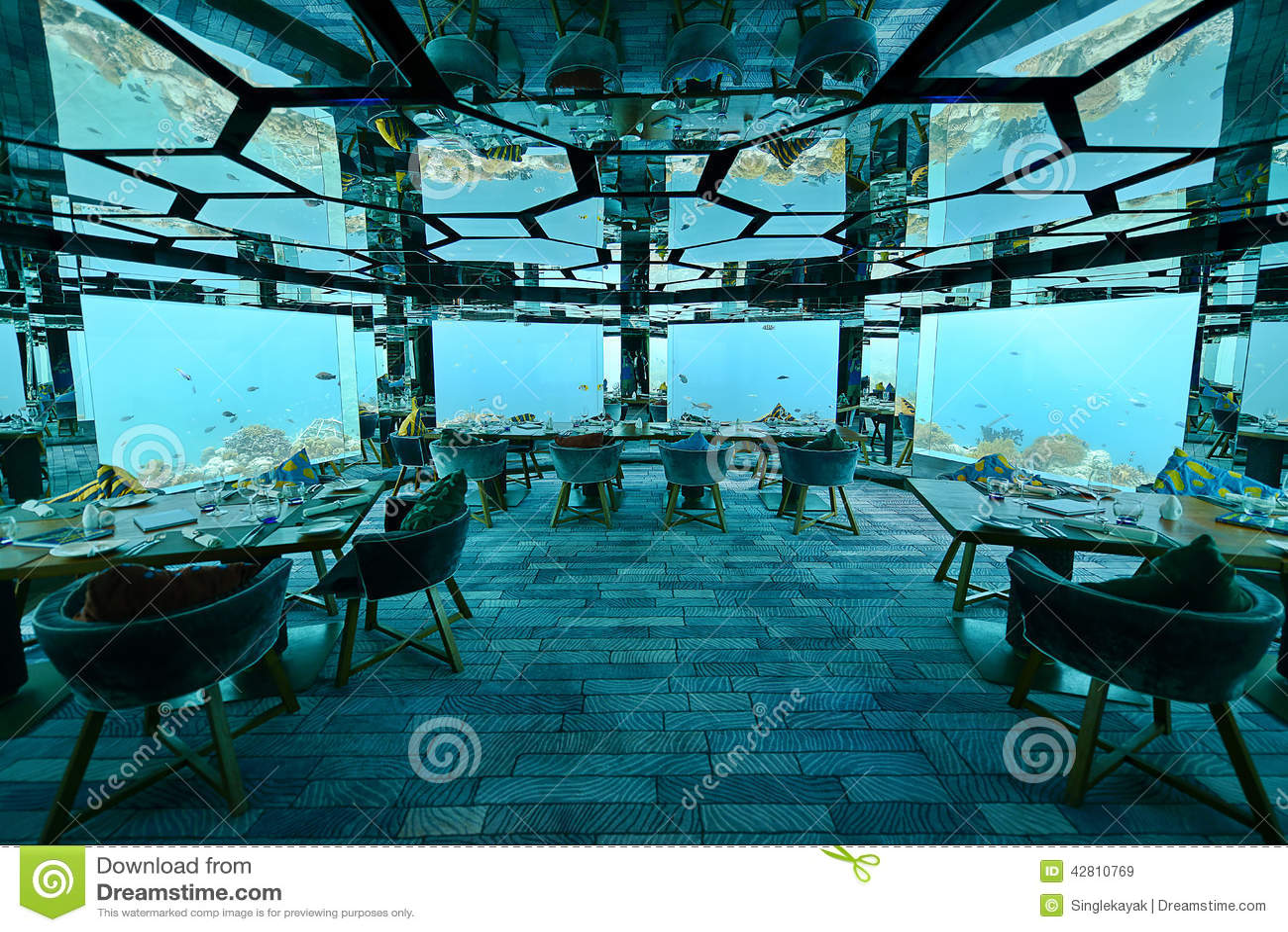 Restaurante subaquático