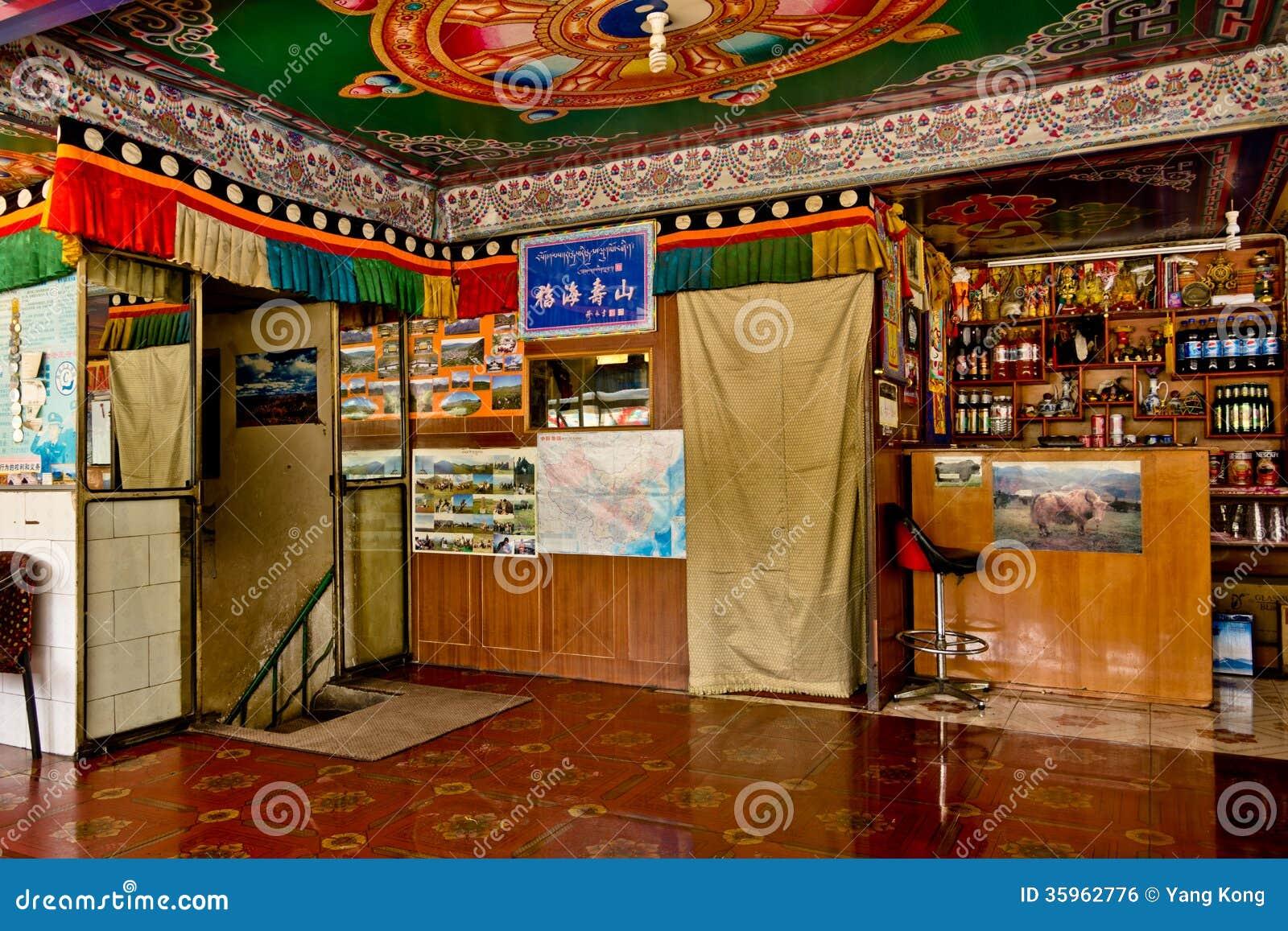 Restaurante tibetano, Labrang Lamasery