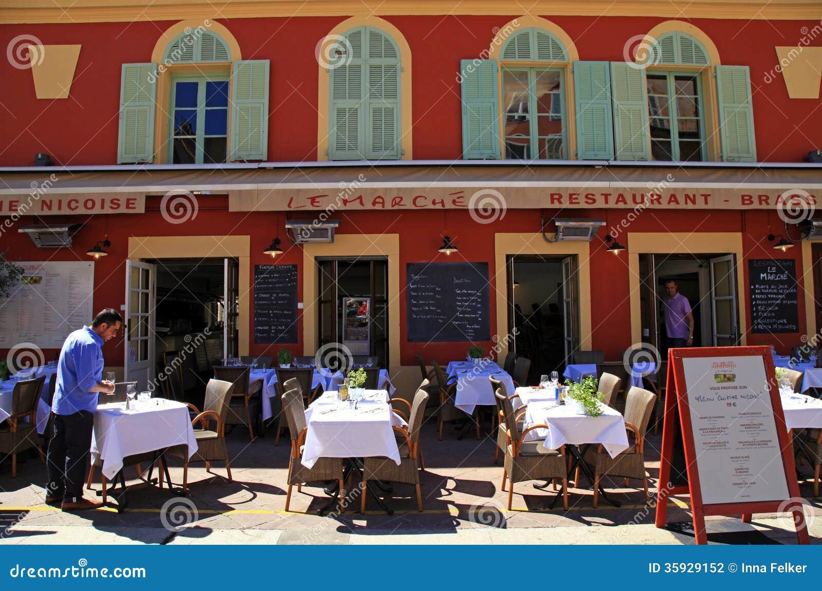 Restaurantes franceses en el cours saleya niza francia for Restaurantes franceses