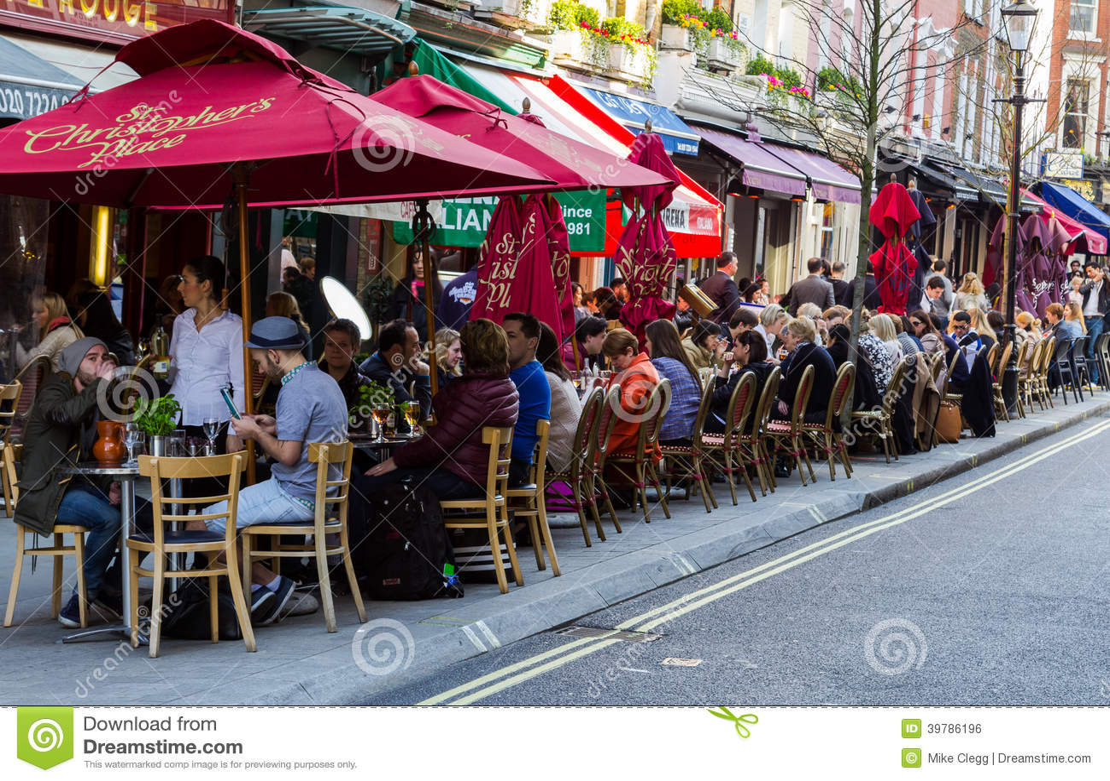 Restaurants Near  Christopher Street