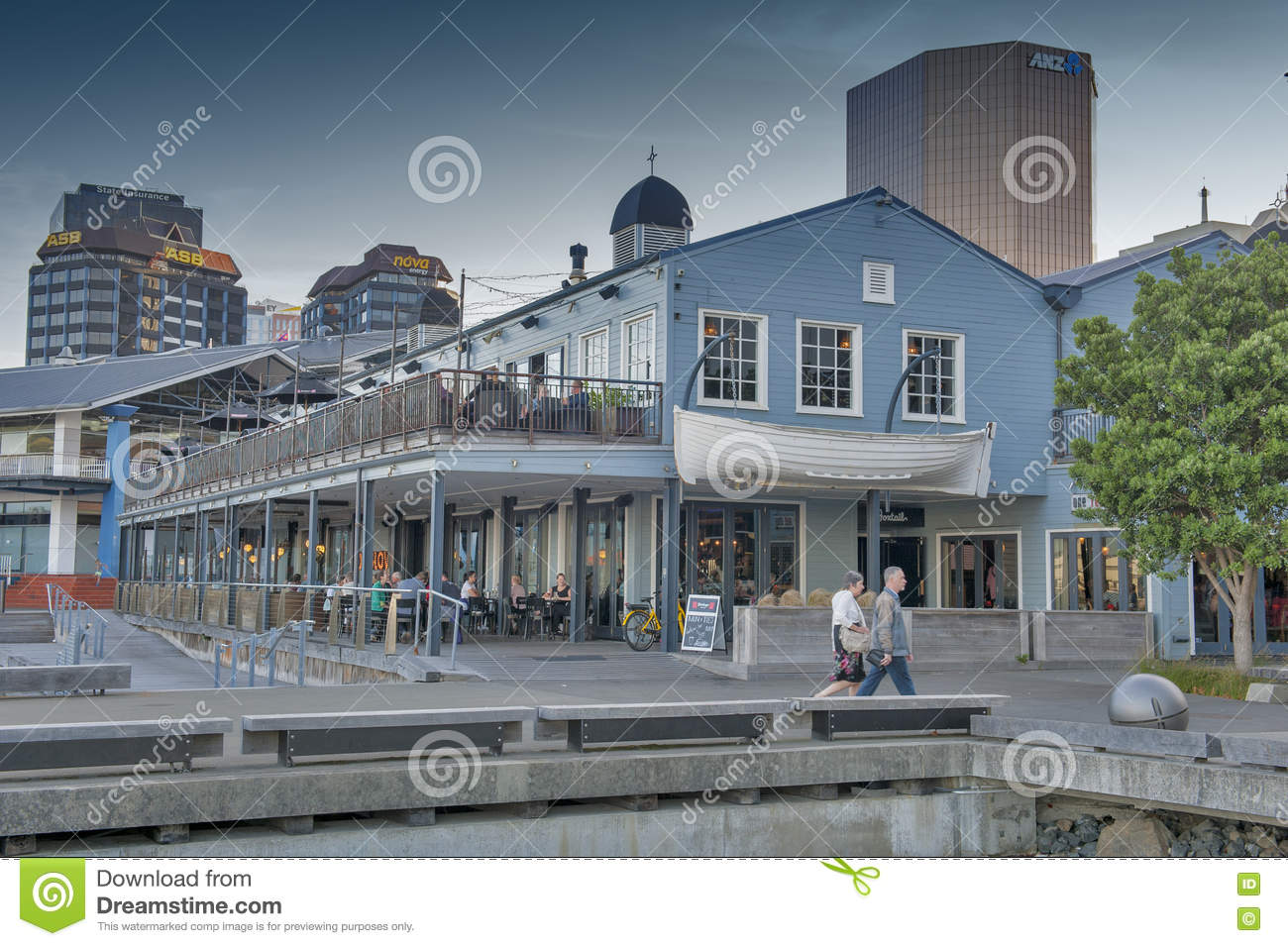 Restaurants On Wellington Waterfront North Island Of New