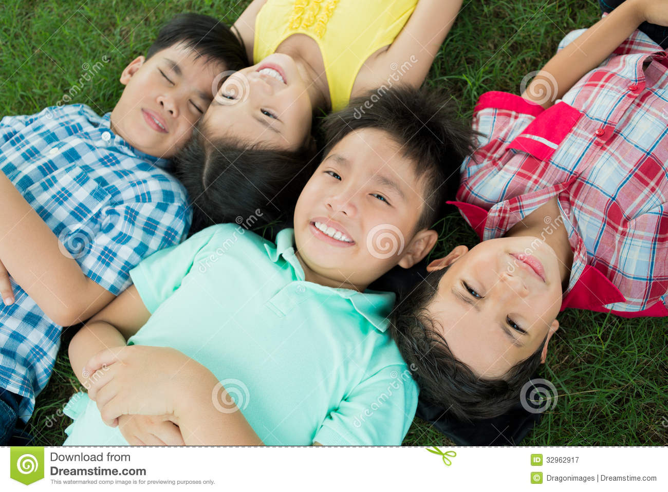 Resting Children Royalty Free Stock Photography - Image ...