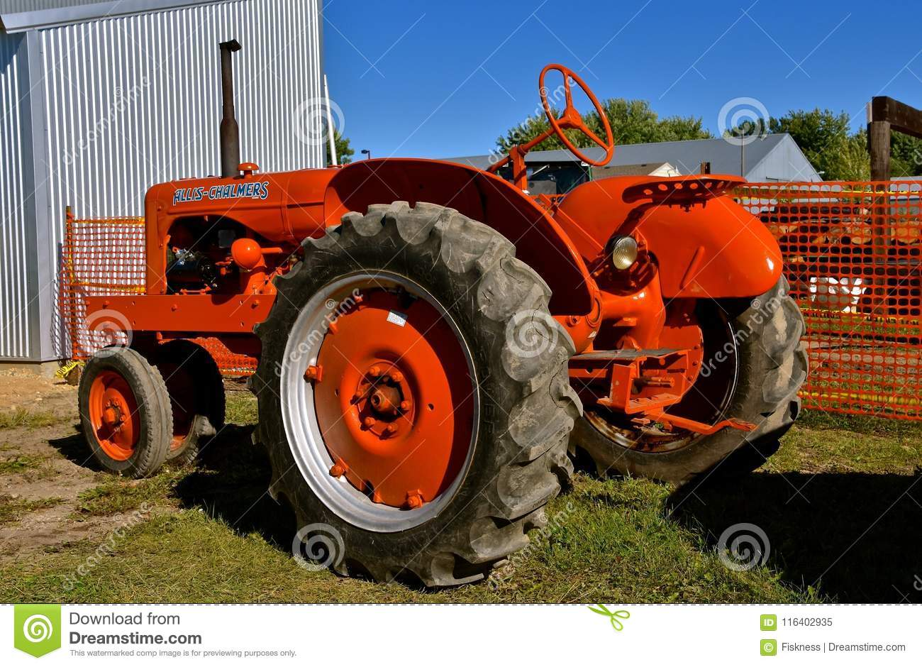Restored Allis Chalmers Tractor Download Preview