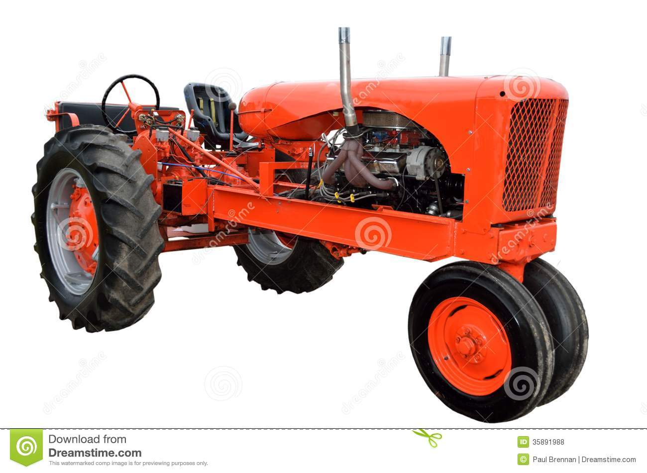 vintage tractor clipart - photo #41
