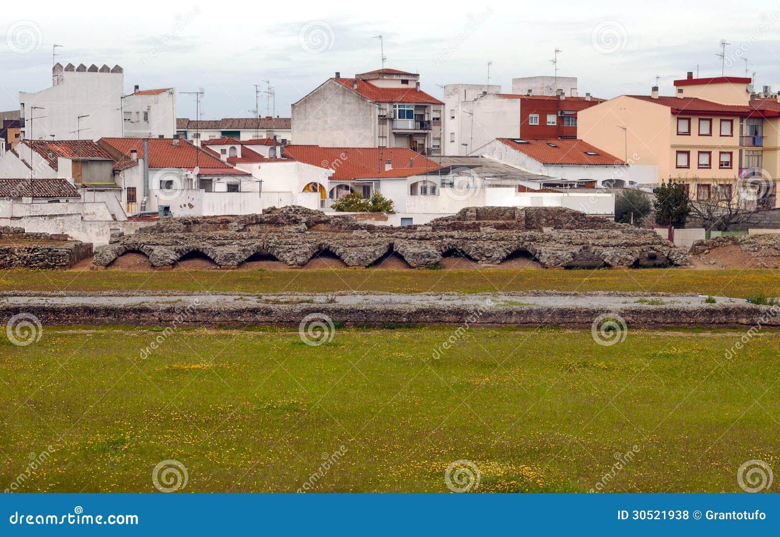 Restos Del Circo Romano Foto De Archivo Imagen De Emerita 30521938