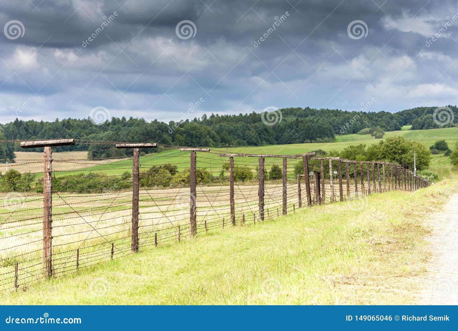 Restos del telón de acero, Cizov, República Checa