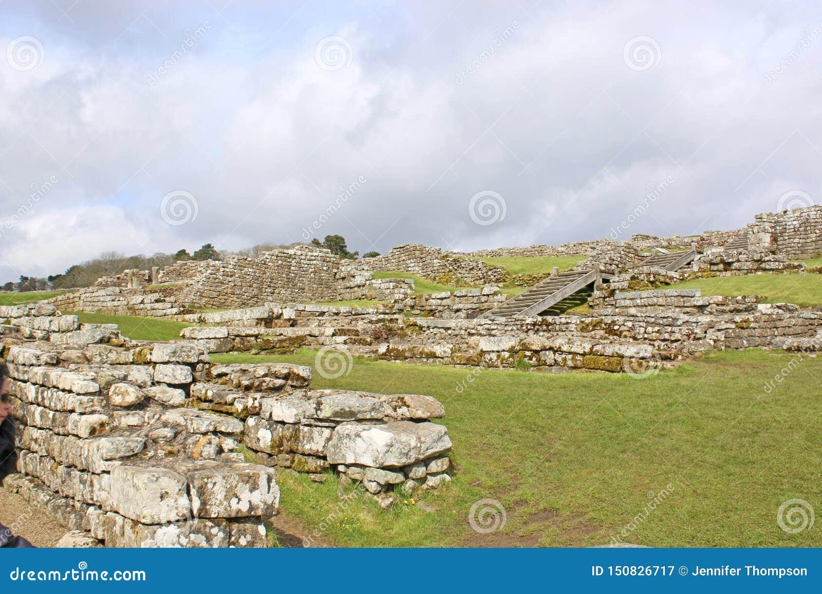 Restos romanos en Housesteads