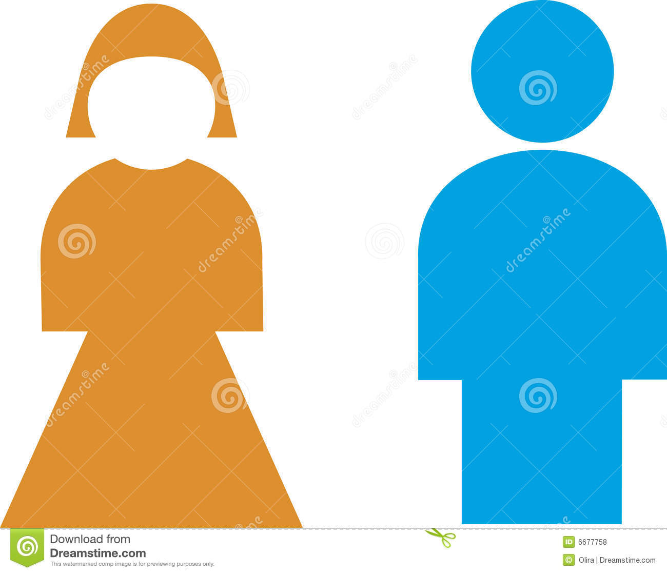 Restroom Sign Male Female Royalty Free Stock Photos