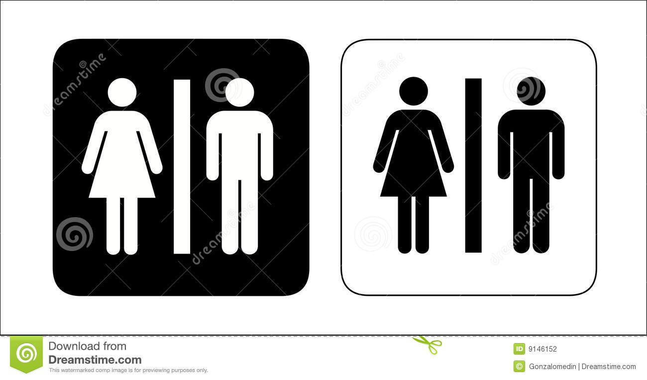 Restroom signs Stock Photography. Restroom Stock Illustrations   5 828 Restroom Stock Illustrations