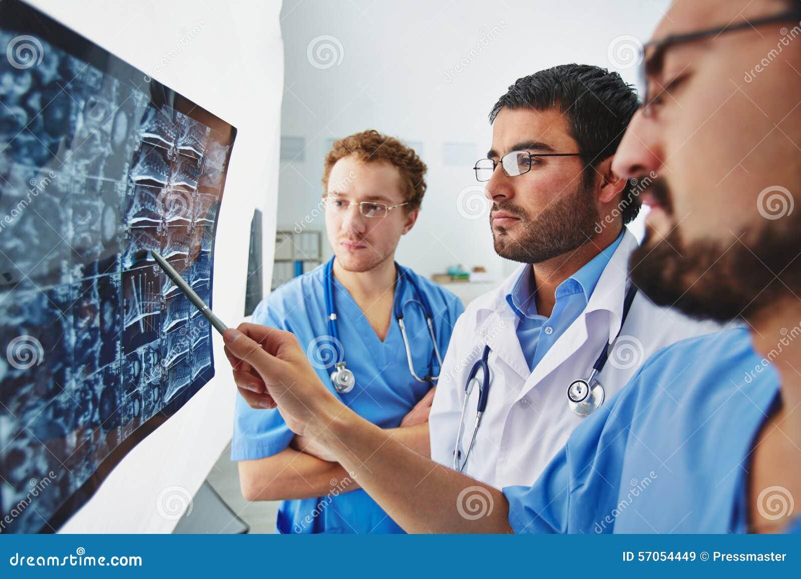 Resultaten van röntgenstraal