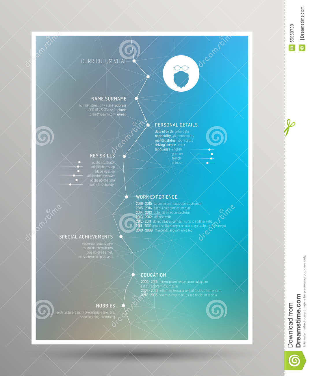 resume background image modern curriculum vitae resume