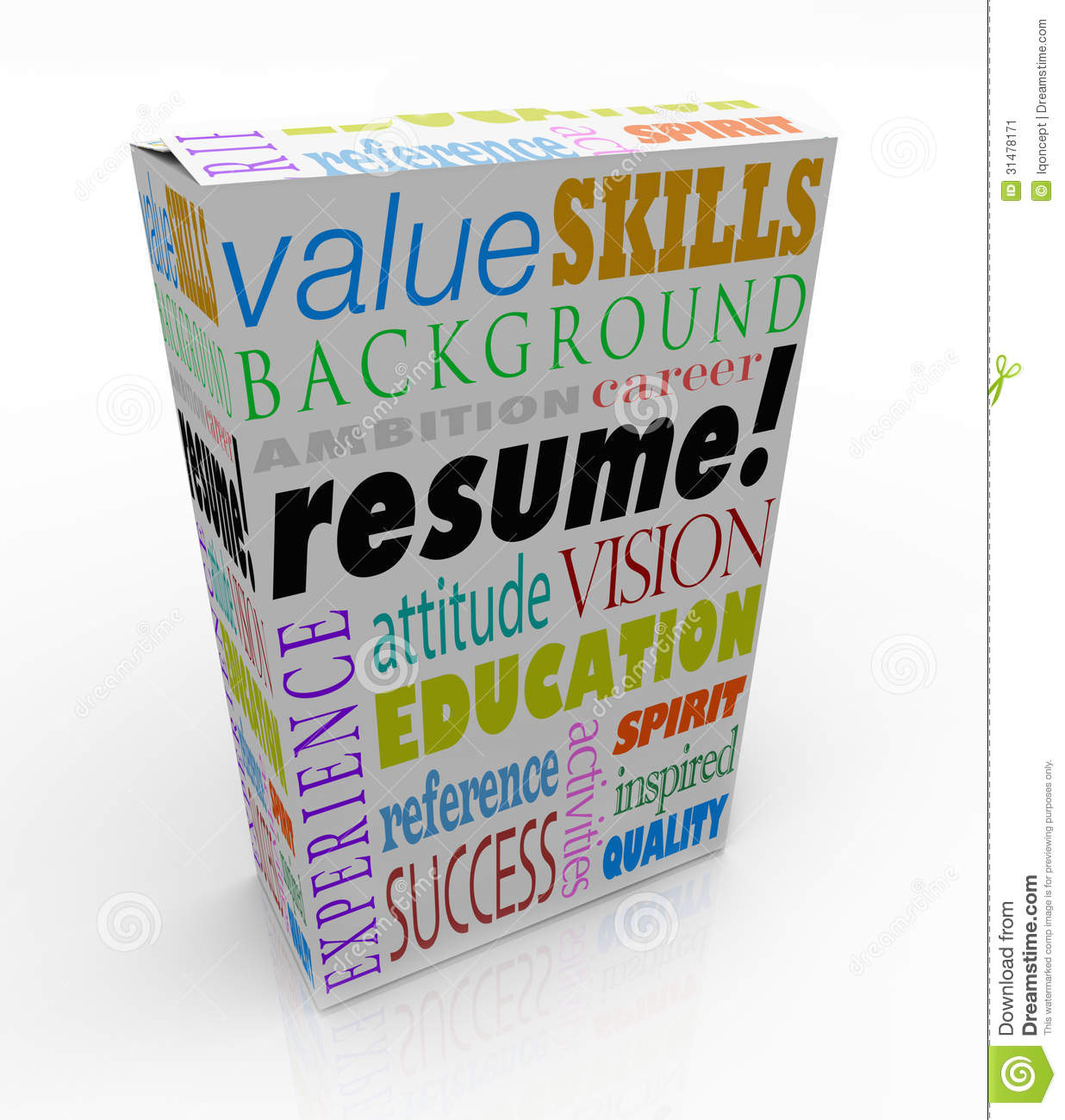 resume word product box best candidate experience