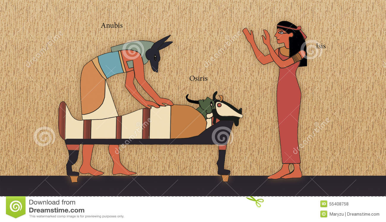 Resurrección de Osiris