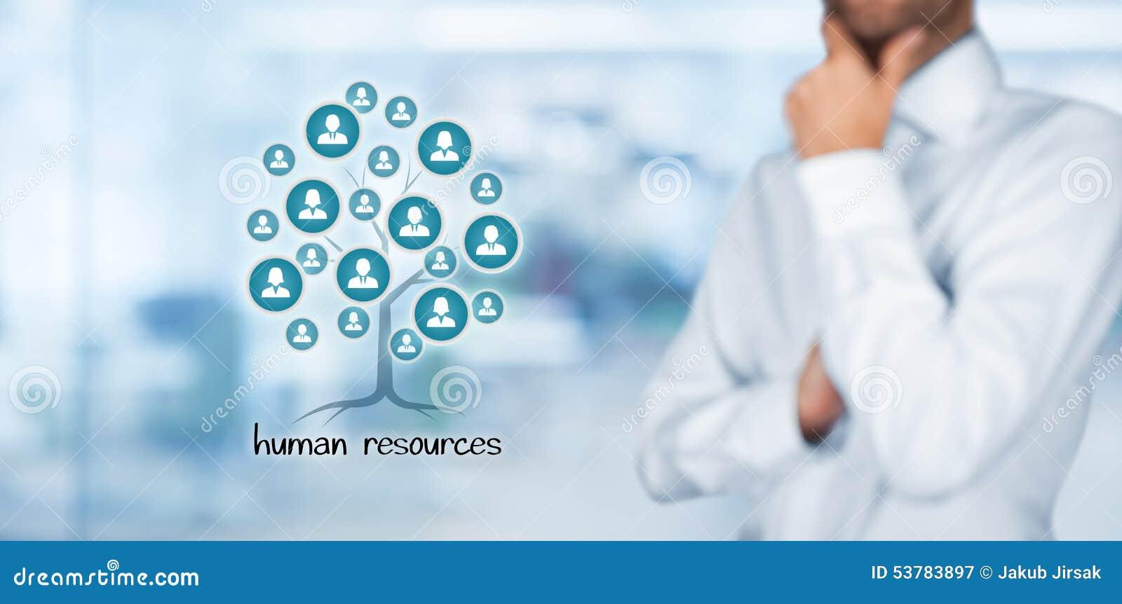 Resurser för folk för affärsaffärskvinnagrupp mänskliga stora