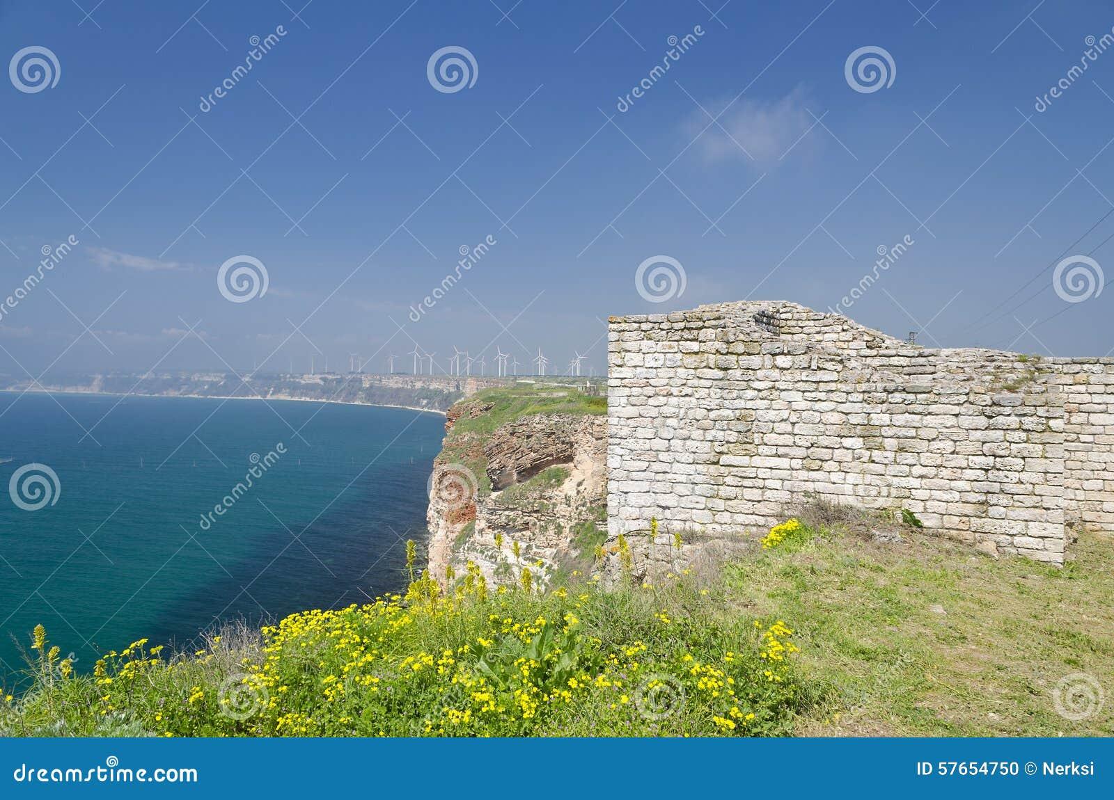 Resztki średniowieczny forteca